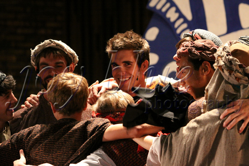 """<b>Brotherly love Reunion—24 July 2012</b>  The """"Joseph"""" curtain closed Saturday. What a fun show! The energy between the """"brothers"""" is palpable. With or without the photographic evidence, I think the cast will remember this summer for a long time to come."""