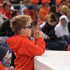 <b>Illini in-training Illini Baseball vs. Ohio State—21 April 2012</b>  Because his chosen activities require long rehearsals, we don't actually spend much time with NOS during parents' weekends. Luckily, as alums, we're fully capable of entertaining ourselves. Part of our festivities: taking in an Illini Baseball game, as we so enjoyed when I was pregnant with NOS. [Illinois beat Ohio State 8-3.]