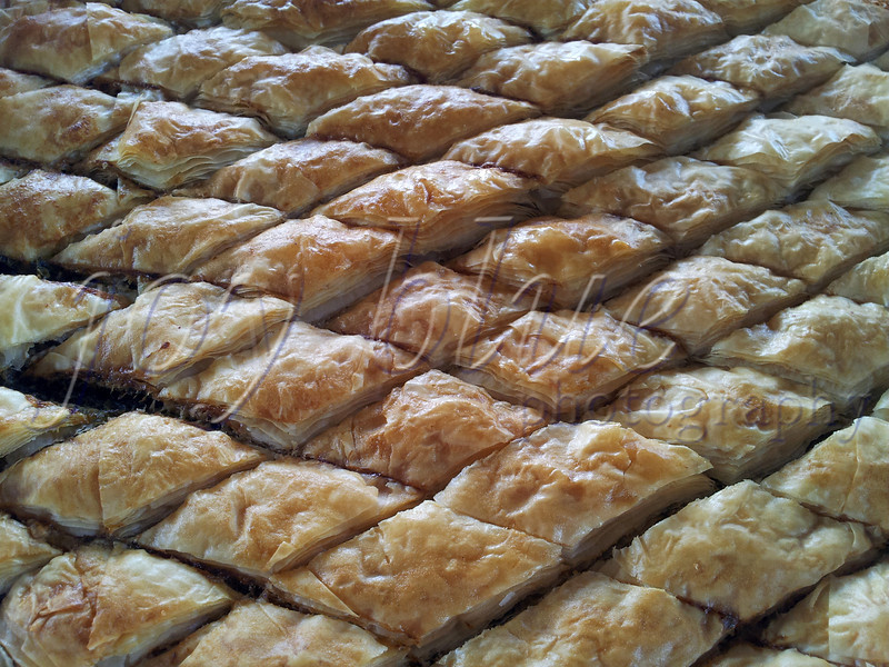 <b>Super-yum! Monica's graduation party—8 June 2013</b>  One of the bonuses of having great Greek friends (besides their charm and affection, of course) is wonderful food. For this occasion, the Spanakopita was made by Evonne's cousin Georgia. Over the years, I've been happily fed many tasty treats by several members of the family (including EK, herself).