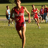 <b>Run, Forrest, Run!  Palatine High School Cross Country v. Prospect—3 September 2013</b>  The Varsity Boys team won its opening meet (all the PHS teams did), in what we expect will prove to be a wonderful final season for Number Two Son, Adam. Argeni (followed by Emil) is one of this year's captains (along with Adam, Dean, Emil, Eddie, and Graham). This was our favorite shot from the afternoon. [more from this meet: http://www.joybluephotography.com/Sports/PHS-Cross-Country-2013-09-03-v/31647829_LQgcpZ]