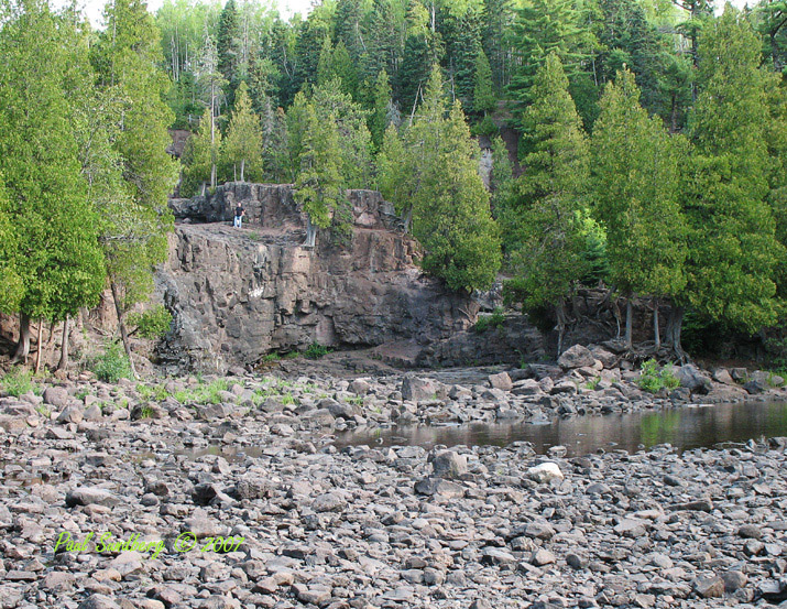 "Lower Gooseberry Falls August 2007<br /> <br /> I think the drought the North Shore was in most of the summer is officially over. We have received rain for about four weeks now. This week we got 5"" to 6"" in one day depending on where you were on the shore."