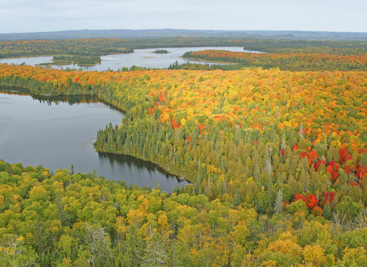 Mount Sophie<br /> <br /> Mount Sophie is located in the Grand Portage Indian Reservation. It gives you a very impressive view of maple ridges.