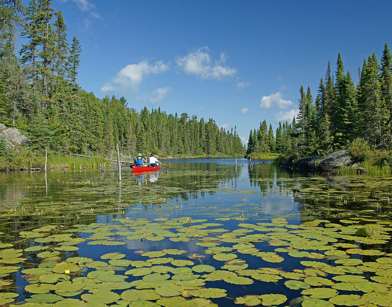 Canoeing The Kelso River BWCA Wilderness<br /> <br /> We took day trips into several adjacent lakes experiencing the sites and sounds of the wilderness. Between intermittent showers the sunshine illuminated the surrounding landscape making us glad we have places like this to enjoy.