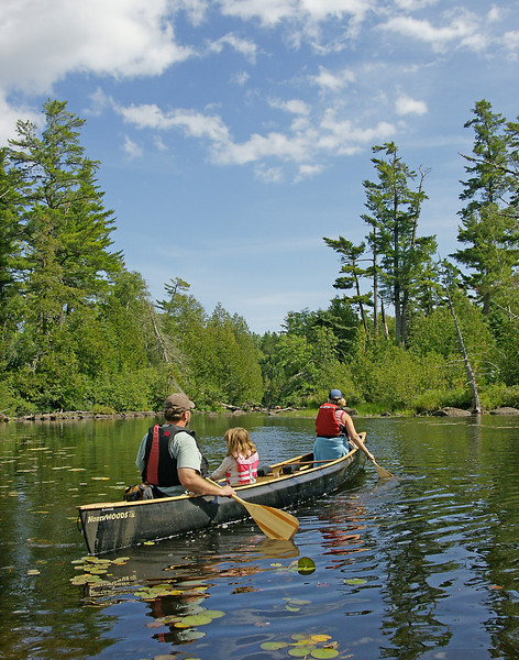 Canoeing the BWCAW 001<br /> <br /> I asked some friends if they wanted to explore an old 1800's abandoned mine in the Boundary Waters Canoe Area Wilderness. The mine is located on the portage between Kelly and Jack Lakes about three miles and three portages into the BWCAW.<br /> <br /> Wednesday was an absolutely beautiful day. Steve, Sue, Jacob, Jessie, Mike and I set out for a day of adventure. Steve and I had been to the mine before and knew the kids would love to explore the inside.