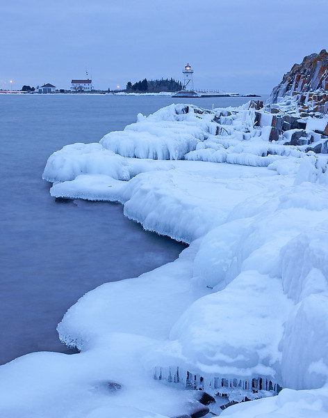 Grand Marais Harbors 002<br /> <br /> This week, we were in Grand Marais and walked down to the beach to check out the ice.
