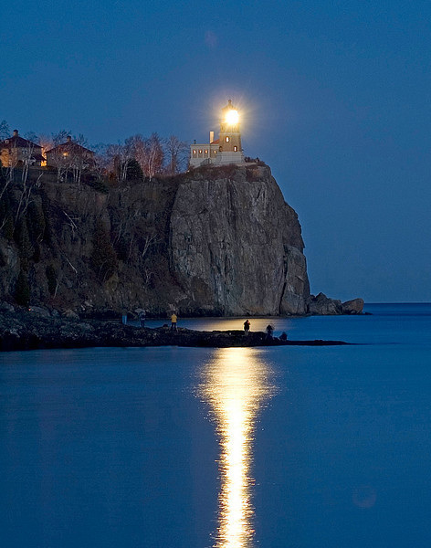 November 10 Lighting of Split Rock Lighthouse