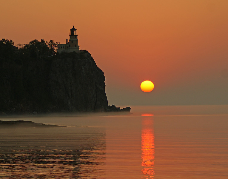 Sunrise From Split Rock Lighthouse State Park 001<br /> <br /> We had a couple of great sunrises this week.