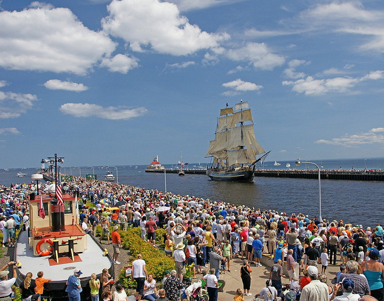 Tall Ships 001<br /> <br /> I got the chance to photograph the Tall Ships as they came into the Duluth Harbor on Thursday. It was an awesome experience even though you had to work your way through a crowd of about 100,000.