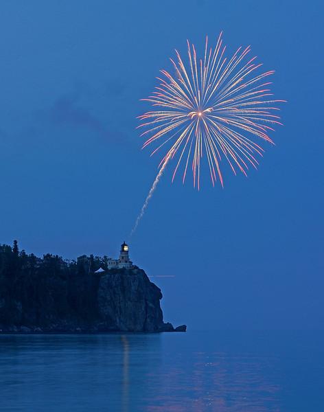Split Rock Centennial Fireworks 001