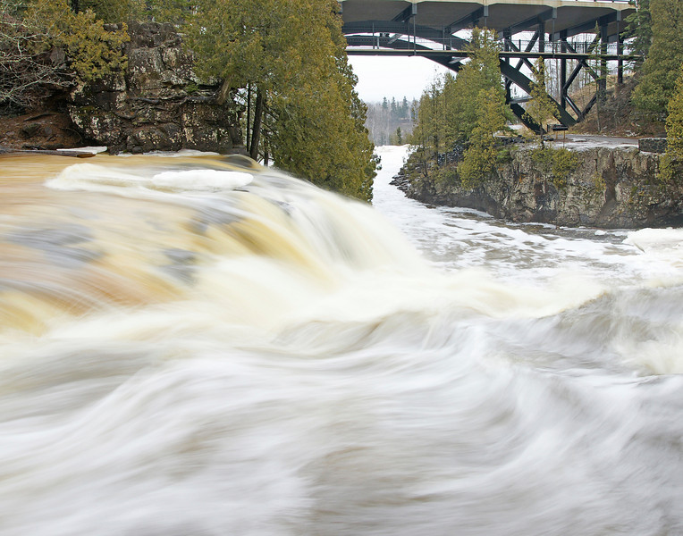 Upper Gooseberry Falls<br /> <br /> The rivers will be high for the next couple of weeks so it would be well worth a trip to the North Shore.