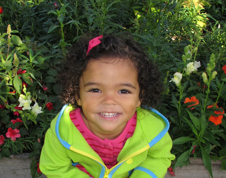 Granddaughter<br /> <br /> I had to include a photo of our granddaughter. Every time she smiles and looks at me with those big brown eyes I become a pushover and give in to her every request. She even told Karla that I was a pushover.