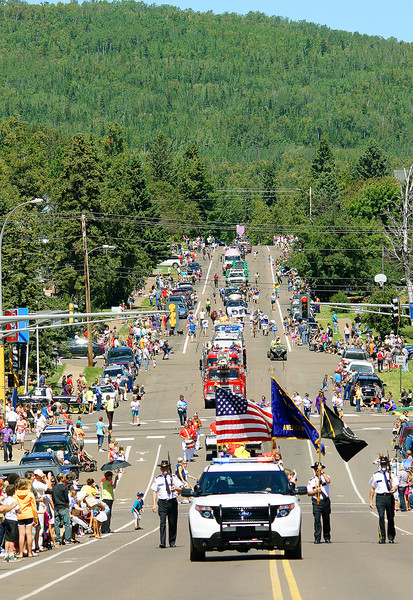 Fisherman's Picnic Parade<br /> <br /> The parade was held on Sunday afternoon.