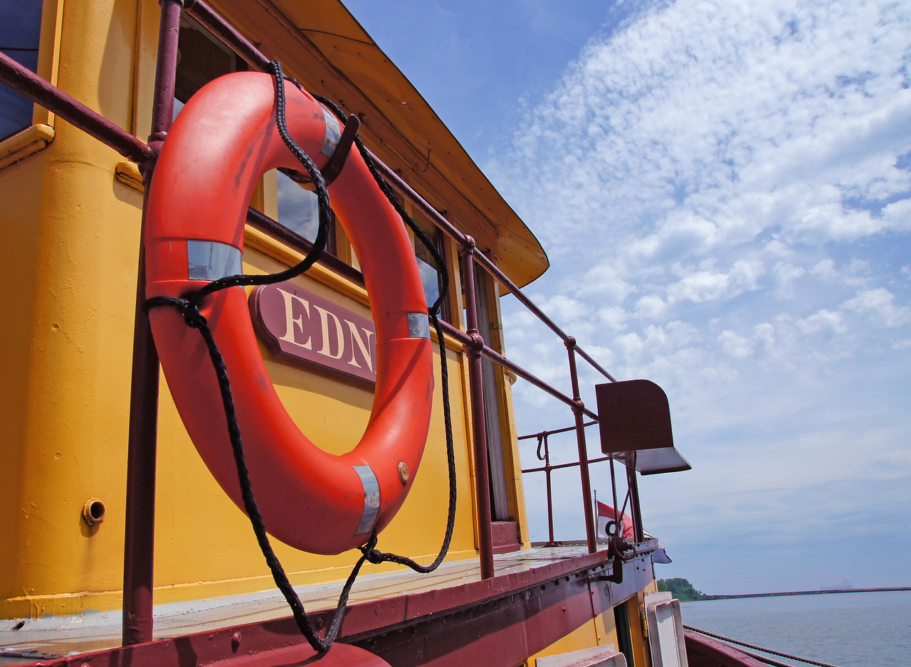 Edna G. Steam Powered Tug Boat 002<br /> <br /> <br /> There are so many historic features in this boat built in 1896.