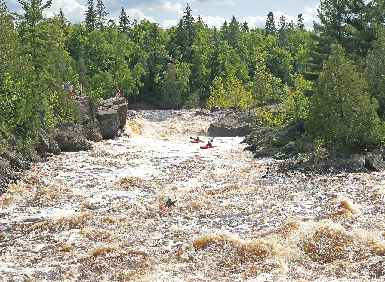 Jay Cooke State Park 004<br /> <br /> I could not imagine kayaking through rapids like that.
