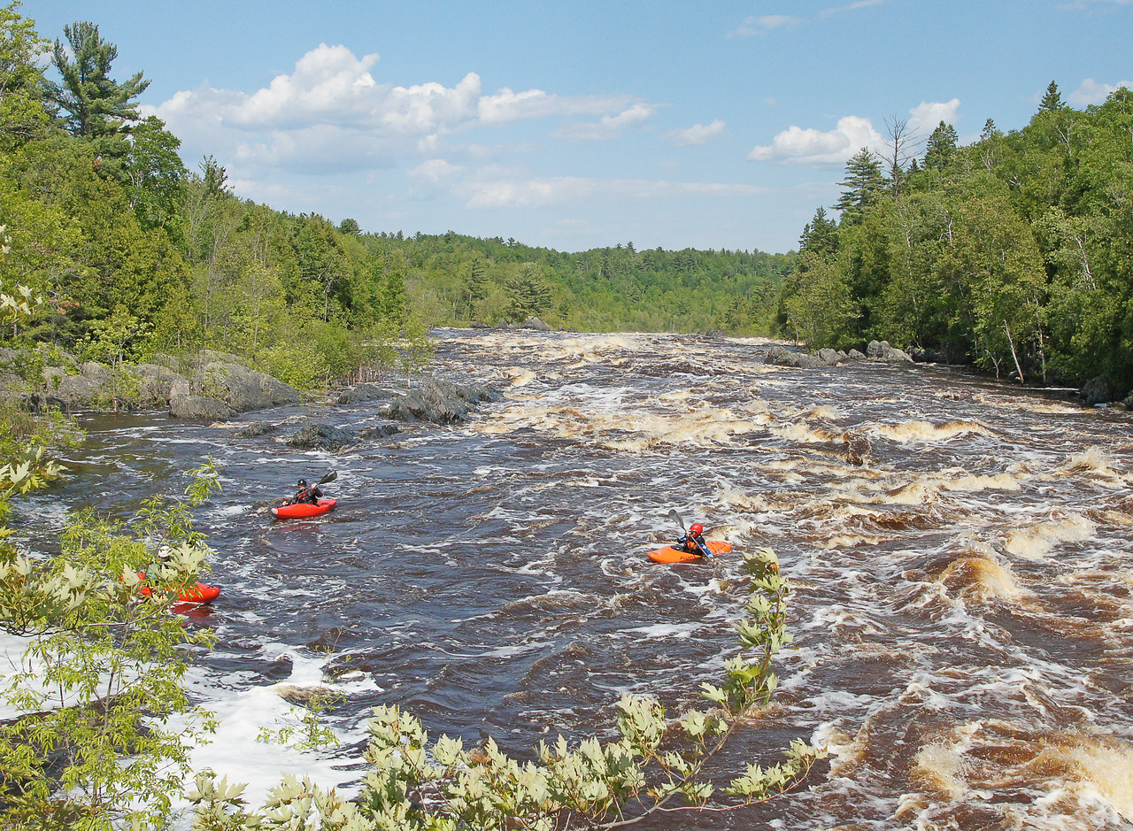 Jay Cooke State Park 006<br /> <br /> I don't think any kayaker could have continued beyond that point into the lower valley.