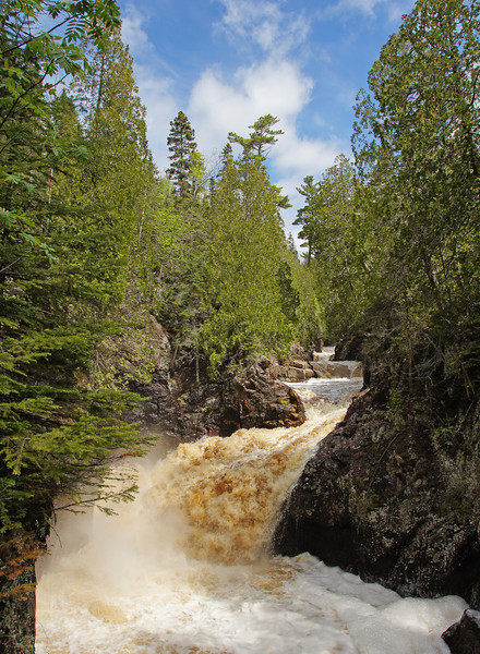 Cascade River<br /> <br /> It has been almost a year since the North Shore rivers have had any substantial flows. This last week changed all of that as we went from drought conditions to flash flood warnings.