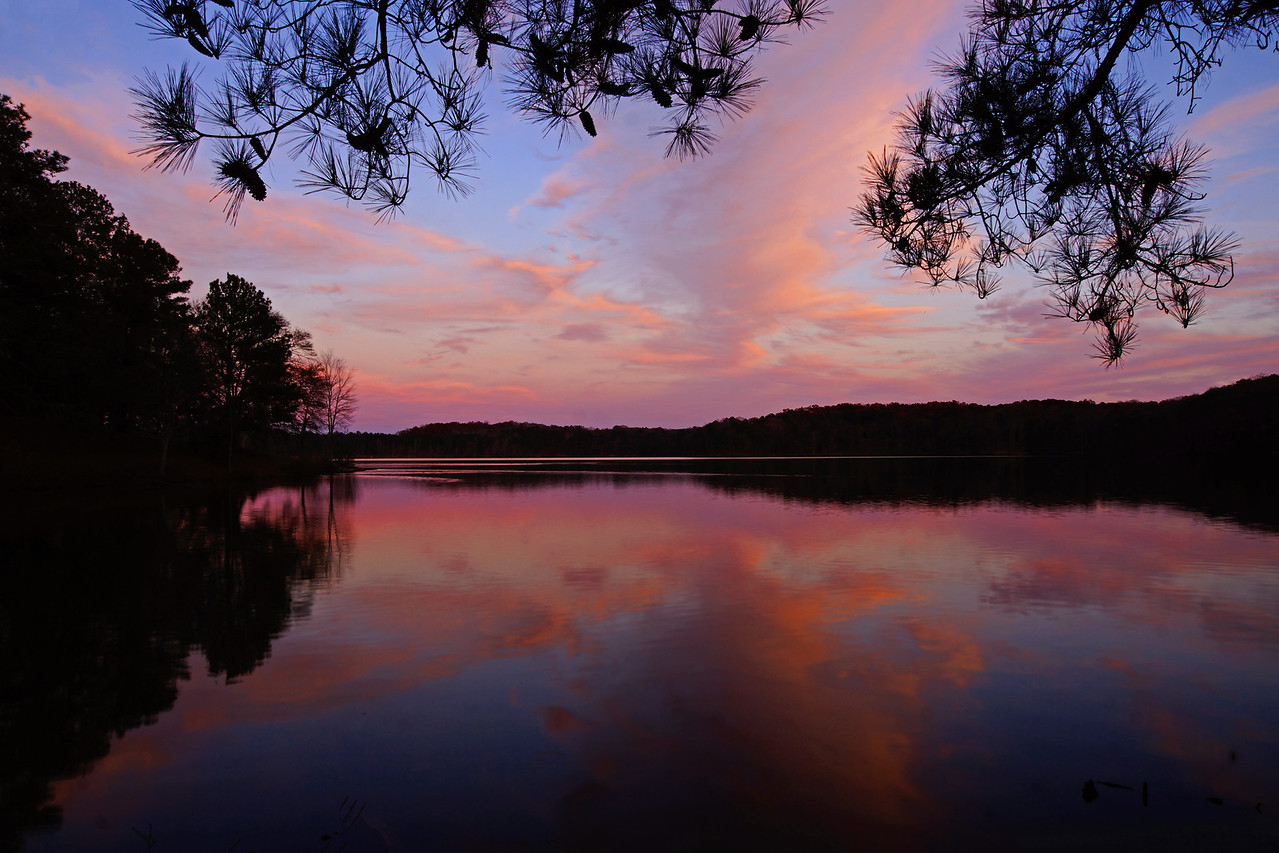 Sweetwater Creek State Park Sunset