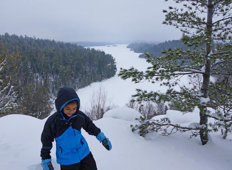 Snowshoeing 003