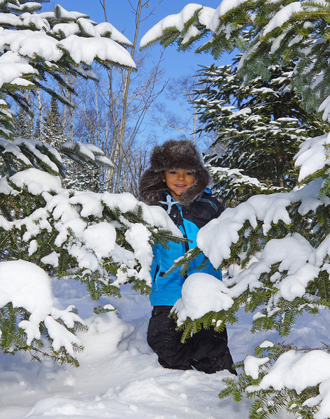 Snowshoeing 002