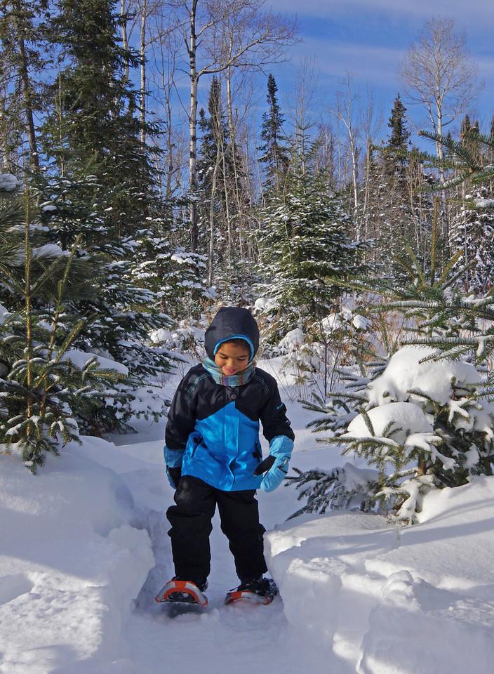 Snowshoeing 001