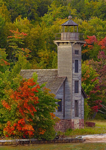 October Grand Island Light