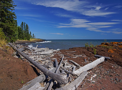 Aug Lake Superior Shoreline 001