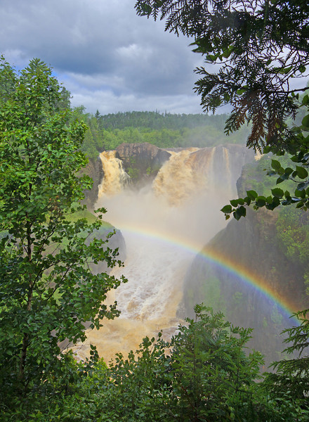High Falls Grand Portage State Park 002<br /> <br /> It was difficult to get photos due to the amount of spray in the air. I had to have the camera in a plastic sleeve while taking these photos to avoid damaging the camera.