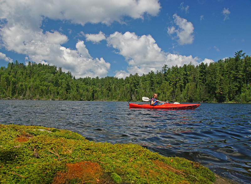 Kayaking 002<br /> <br /> Their four girls loved being on the water kayaking and canoeing and commented they couldn't believe how beautiful the lakes are in Northeastern Minnesota.