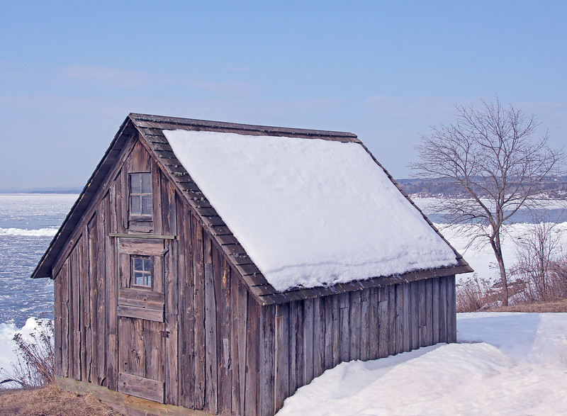 Skiing Stoney Point 005<br /> <br /> Historic Fish House