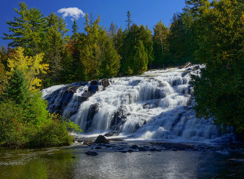 Bond Falls 001<br /> <br /> One of the highlights of the trip was the time spent at Bond Falls. Bond Falls is a little known Michigan State Park located on the Ontonagon River.