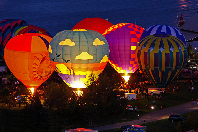 Duluth Hot Air Balloon Festival 008