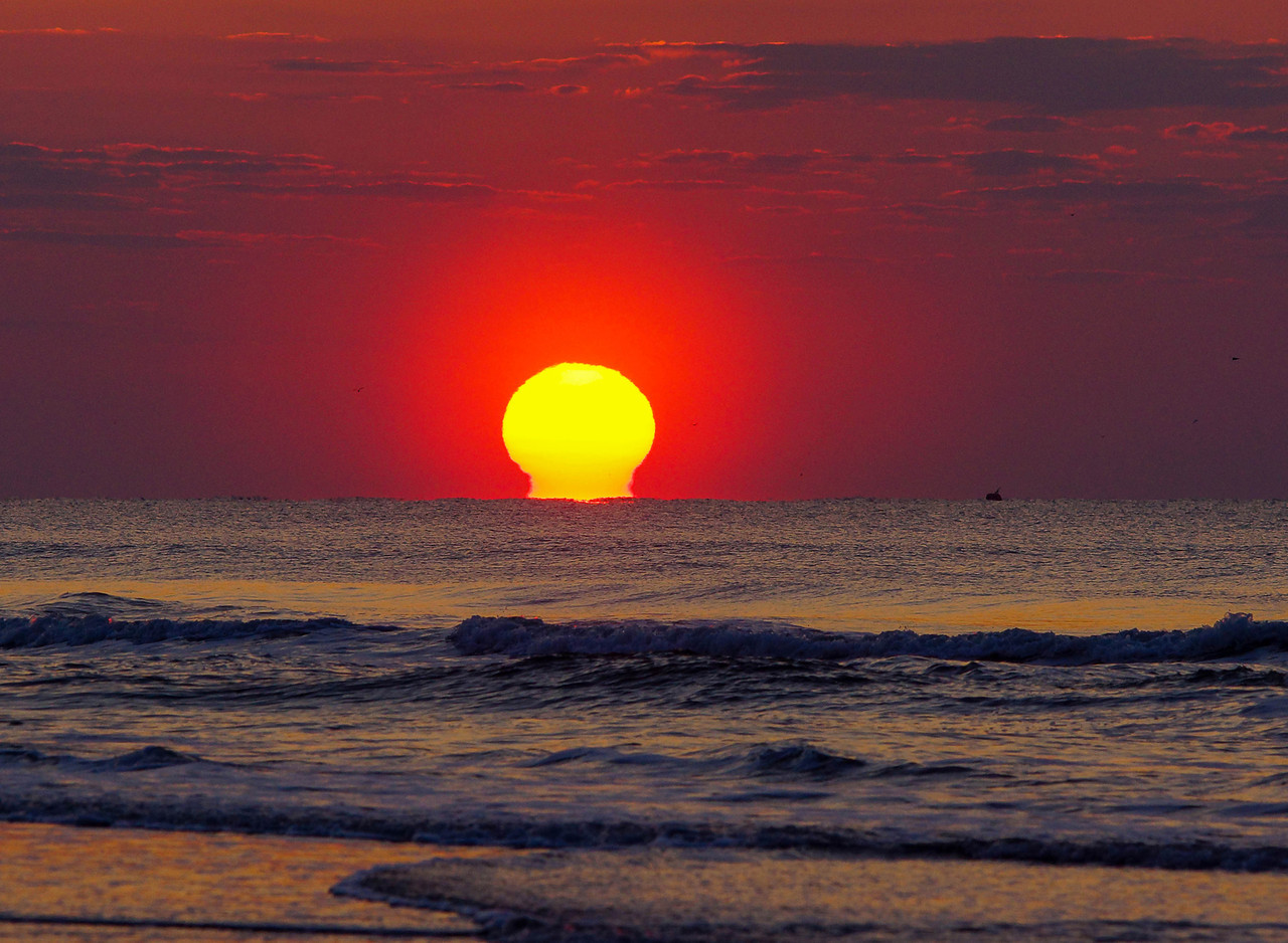 Folly Beach Sunrise 001