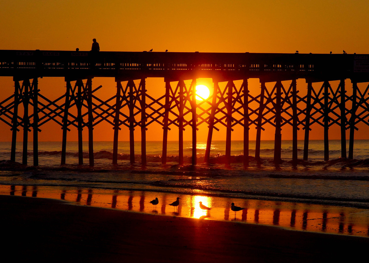 Folly Beach Sunrise 003