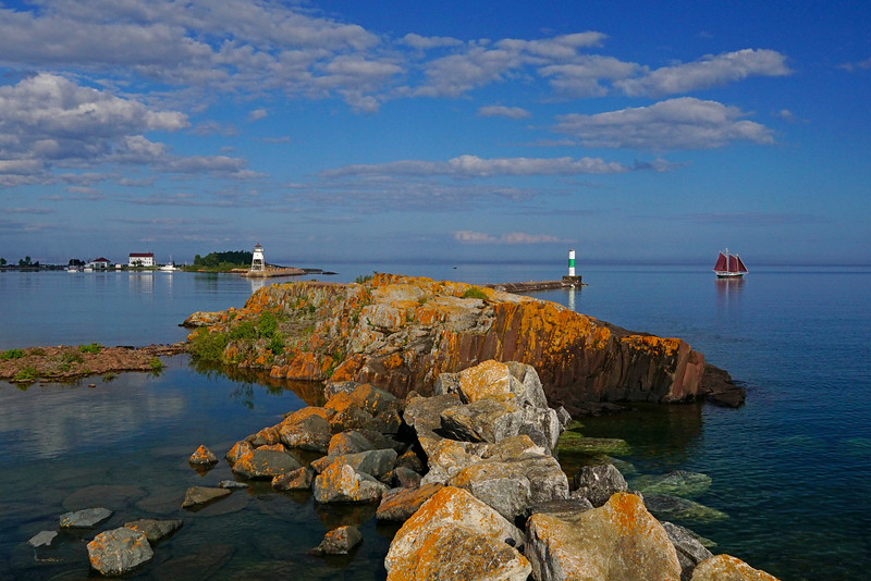 Grand Marais Harbor 001
