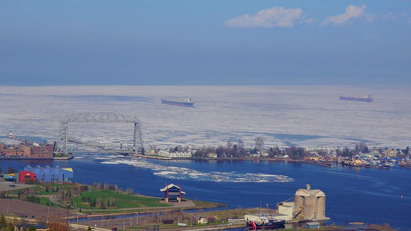 Lake Superior on Memorial Weekend