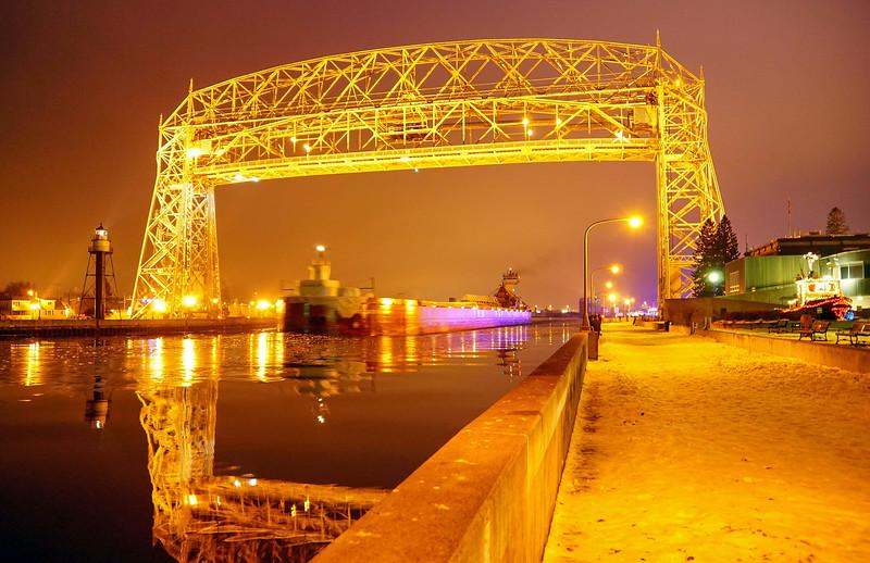 Duluth Lift Bridge 002