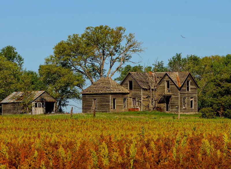 Kansas Abandoned Farmhouse 001