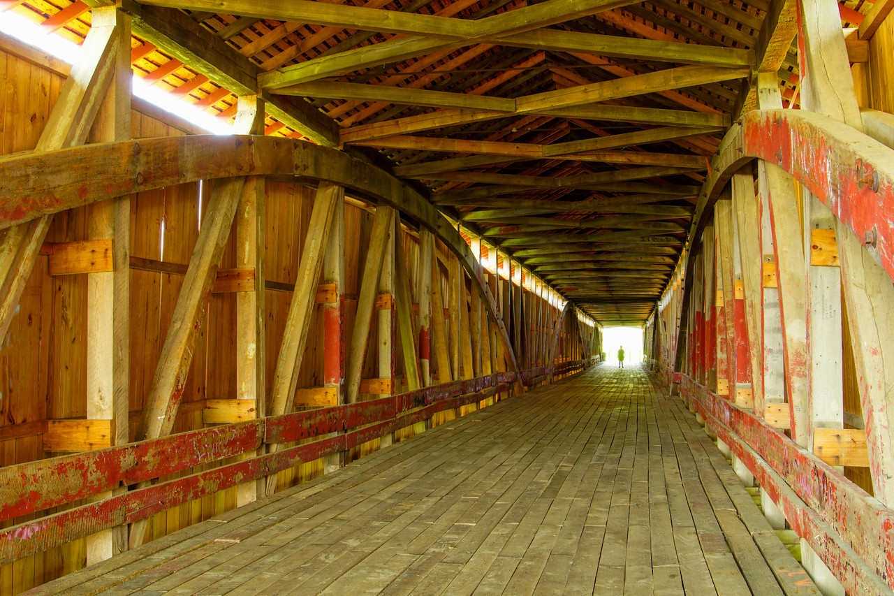 Medora Covered Bridge 003
