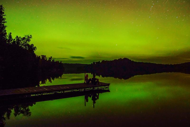 Northern Lights Caribou Lake 001