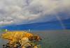 Storm Over Grand Marais Harbor 002