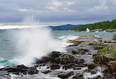 Lake Superior Waves 001