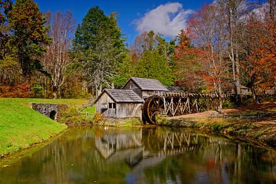 Blue Ridge Parkway Mabry Mill