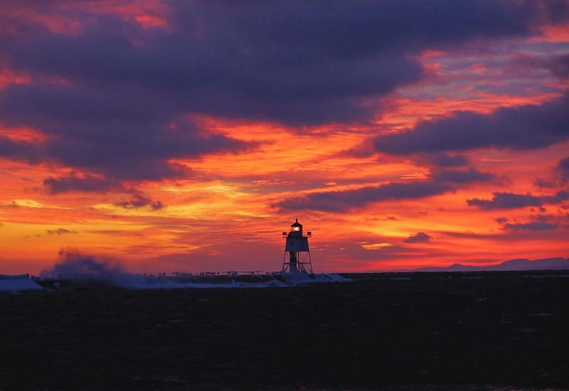 Grand Marais Sunset 003