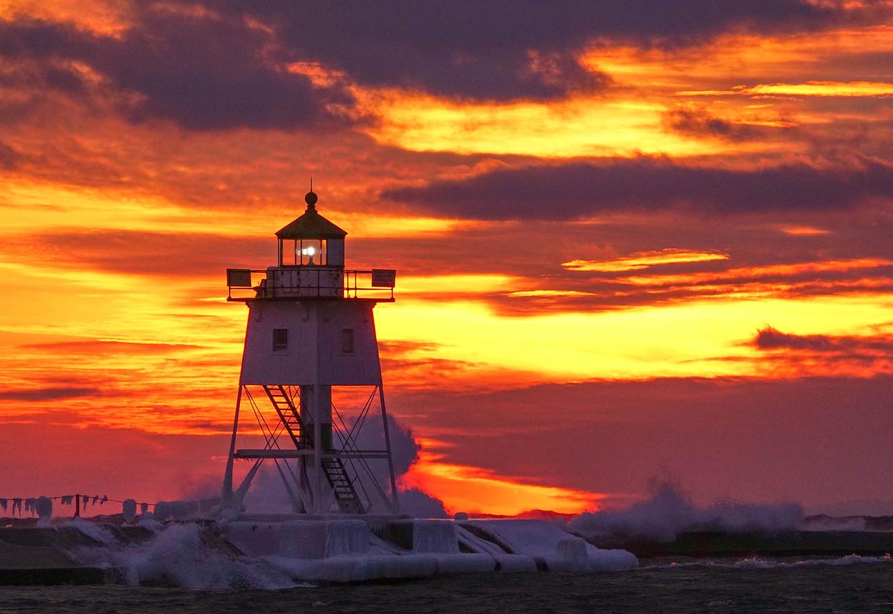 Grand Marais Sunset 002