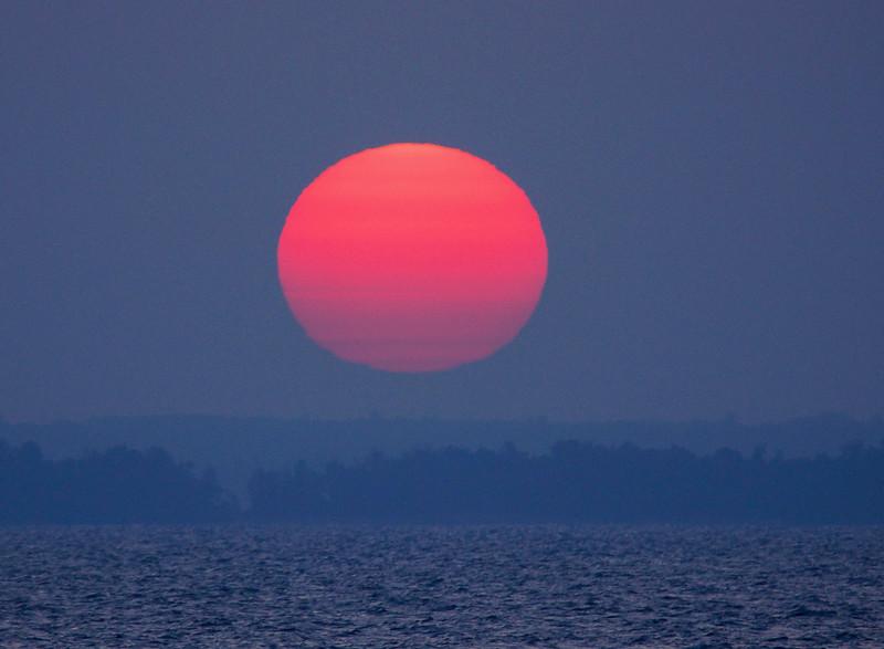 Leech Lake Sunrise 001