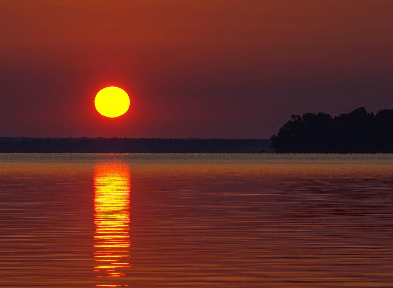 Leech Lake Sunrise 002