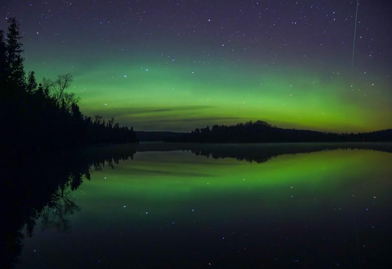 Caribou Lake Aurora 003