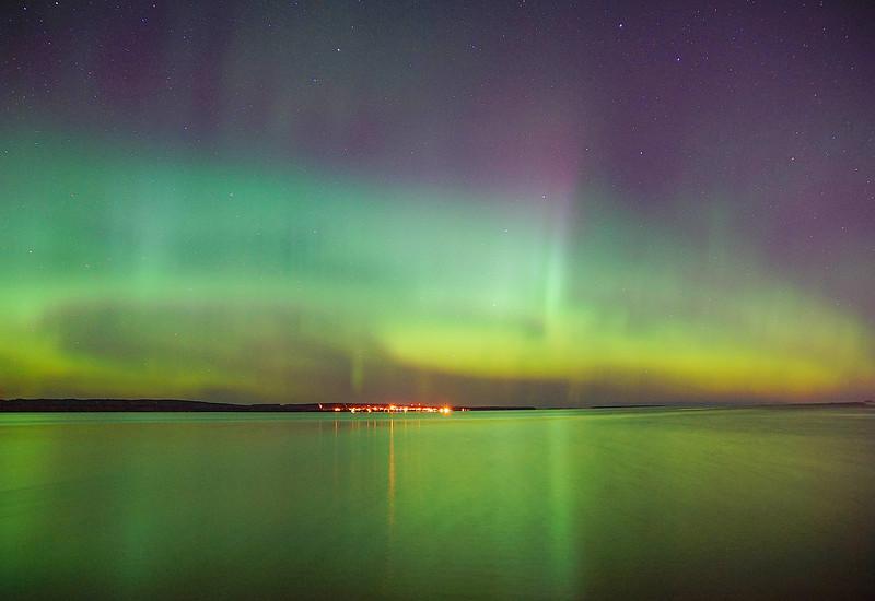 Aurora over Lake Superior 001