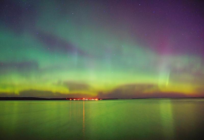 Aurora over Lake Superior 002