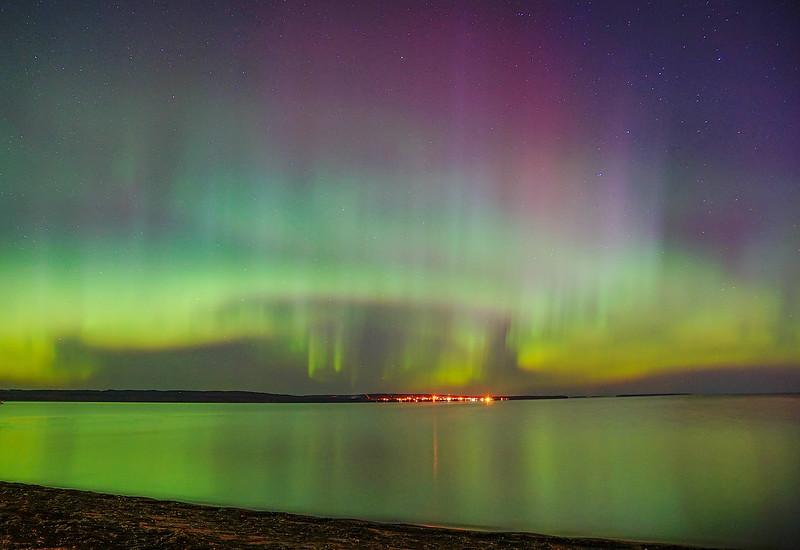 Aurora over Lake Superior 003